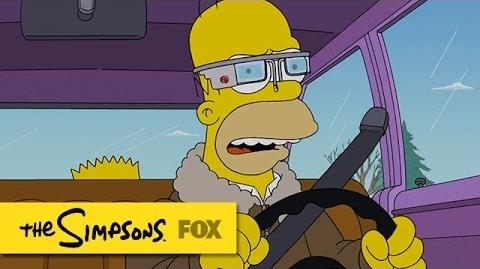 "Promo for ""Specs And The City"" THE SIMPSONS ANIMATION on FOX"