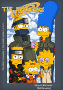 The Simpsons go narutard by Fadeo