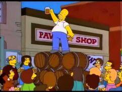 Homer, le baron de la bière