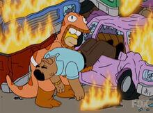 Homer salva tatum 17x06