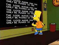 Bart blackboard gag