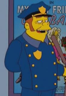 Redhead policeman