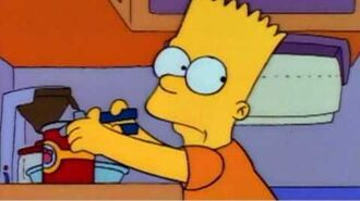 The Simpsons - Bart's Cranberry Sauce