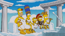 Greek God Couch gag