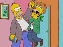 Homer empresario cruel