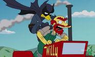 Fruit Bat Man kontra Willie