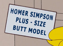 Homer plus size card