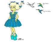 Lady Gaga Simpsons style