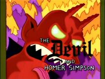 The Devil and Homer Simpson