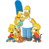 The Simpsons family picture - portal