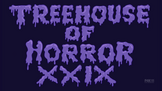 Treehouse Of Horror XXIX Logo