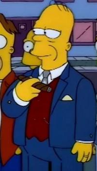 Ator Milionário Simpson