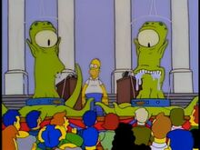 Kodos and Kangsimpsonstaped