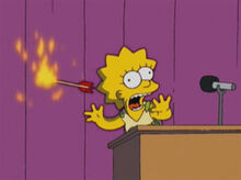 Lisa flecha indio fogo grito