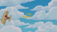 Sideshow Bob The Simpsons Title Screen Gag
