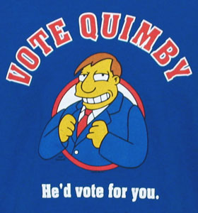 Quimby Campaign Commercial | Simpsons Wiki | FANDOM powered