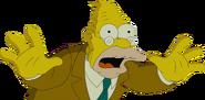 Abraham Simpson in The Simpsons Movie