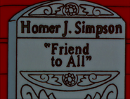 E-I-E-I-(AnnoyedGrunt) Homer'sHeadstone