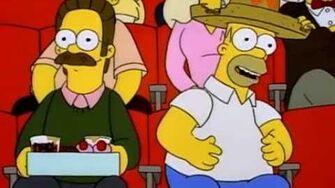 Homer Simpson - Nacho, nacho man, I want to be a nacho man..