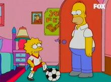 Lisa joga bola homer 01