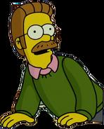 Ned Flanders in The Simpsons Movie