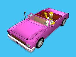 The Simpsons Road Rage Family Sedan (1)