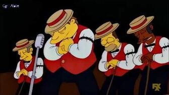 The Simpsons The Be Sharps I Re Acuti - You're the Flower of My Heart, Sweet Adeline (Sub Ita)