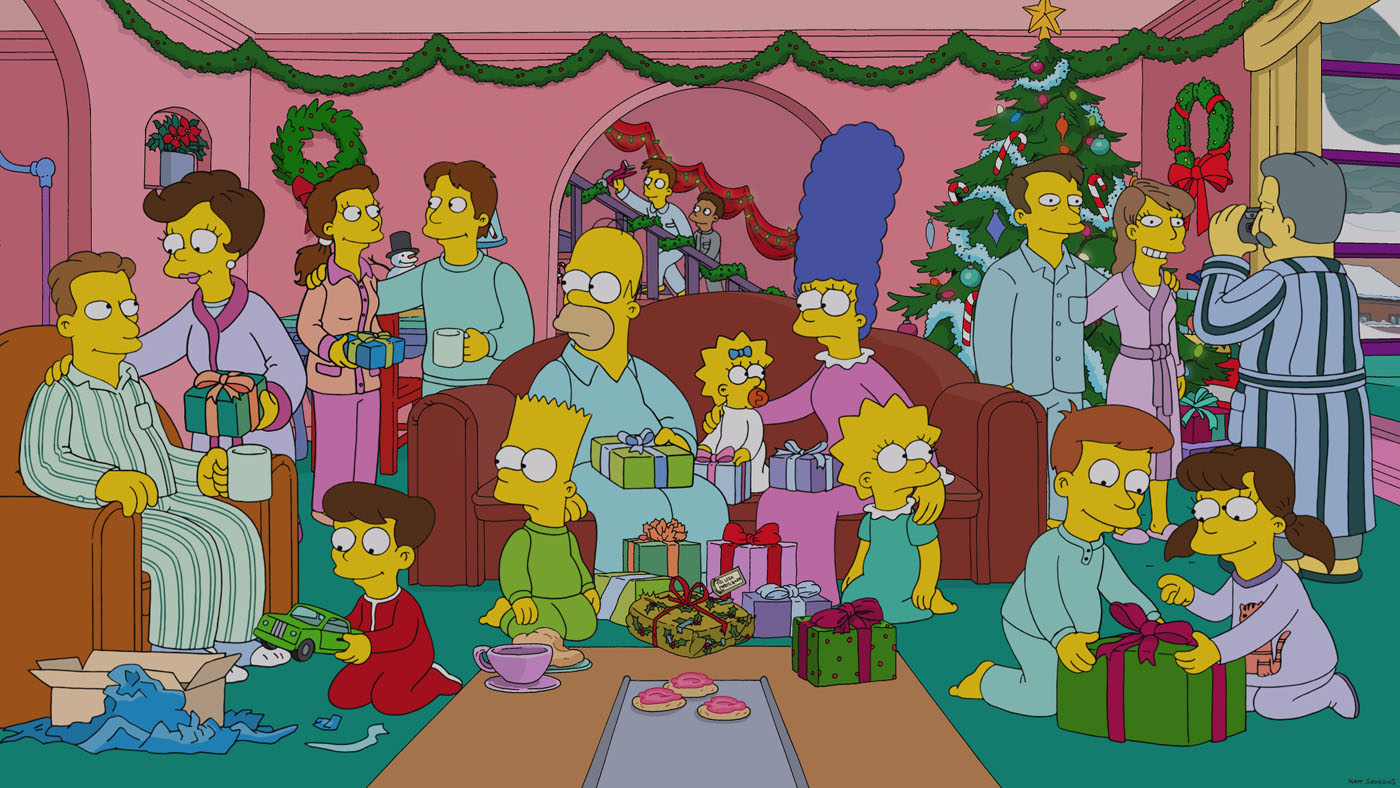 Christmas Simpsons.White Christmas Blues Simpsons Wiki Fandom Powered By Wikia