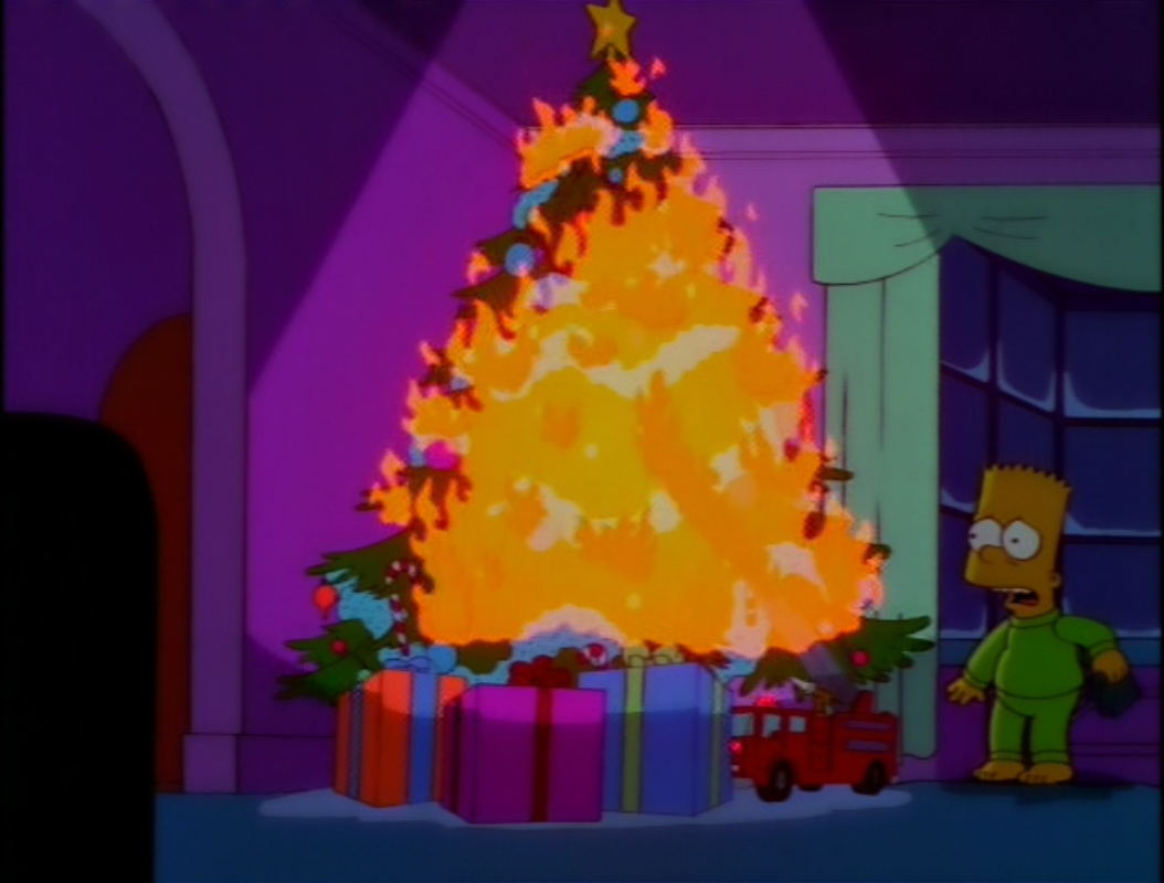 Christmas In Evergreen Truck.Miracle On Evergreen Terrace Simpsons Wiki Fandom