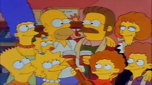 Simpsons - When Flanders Failed ending
