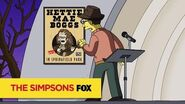 "THE SIMPSONS A Powerful Enemy from ""Gal of Constant Sorrow"" ANIMATION on FOX"