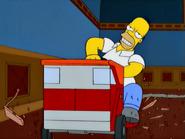 TheMansionFamily-HomerDrunkOnLawnmower