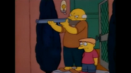 TheSimpsonsGettingShotForTrespassingOnTheMansGarden