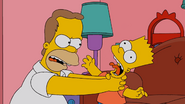 Homer's first Bart strangle
