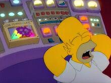 Homer dormindo temperatura perigo