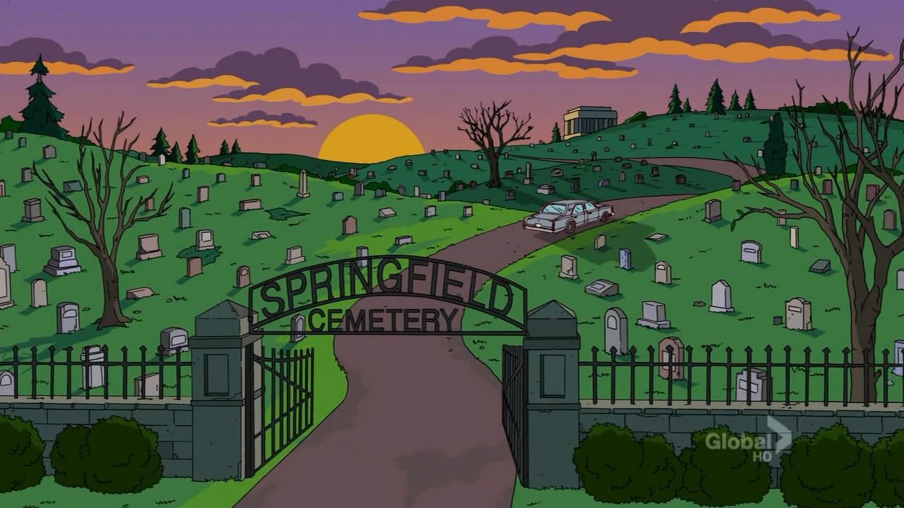 springfield cemetery simpsons wiki fandom powered by wikia