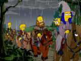 The Hobbit couch gag