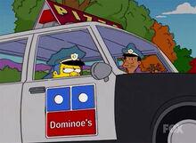 Pizza dominoe's