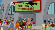 Sitting with Dinosaurs
