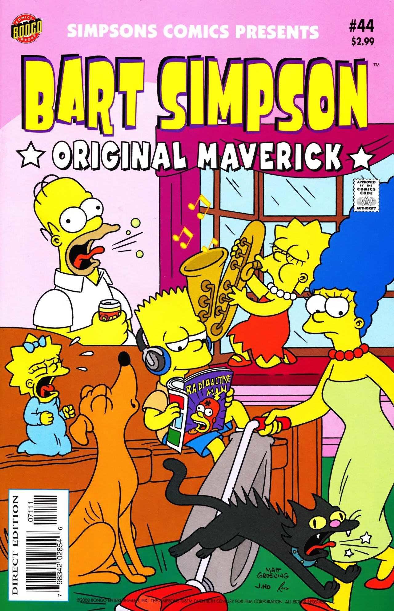 Bart Simpson Comics 44 | Simpsons Wiki | FANDOM powered by Wikia