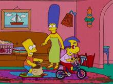 Bart milhouse sujeira sala marge