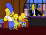 David Letterman Show couch gag
