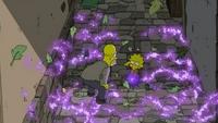 Lisa używa magii