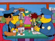 Cops in Krusty Burger 2