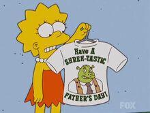 Lisa camisa shrek