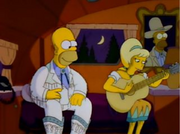 Lurleen Lumpkin chante pour homer