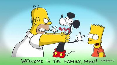 Disney kupuje Simpsonów - Silverman