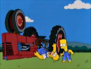 E-I-E-I-(AnnoyedGrunt) HomerFlipsTractor