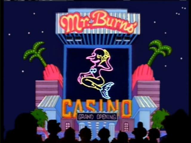 mr burns casino episode