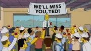 Départ de Ted